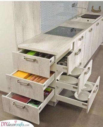 Drawers Two Ways - Unique and Practical