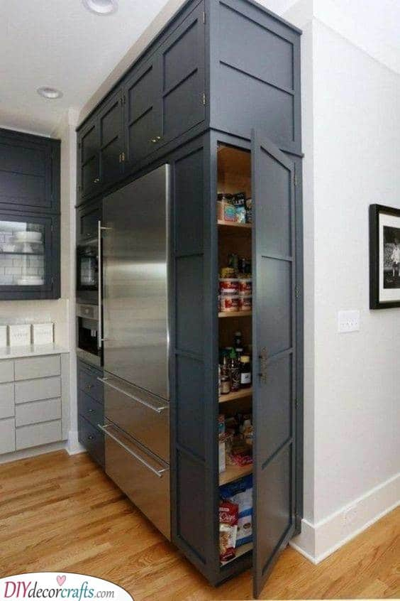 A Side Shelf - Kitchen Cabinet Organizers