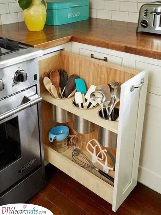 Smart and Neat - Storing Your Spoons