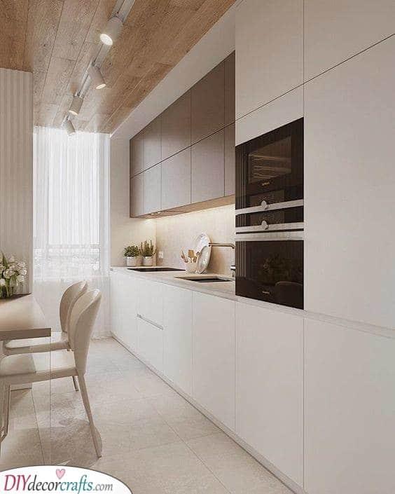 Modern and Minimalistic - Modern Kitchen Cabinets