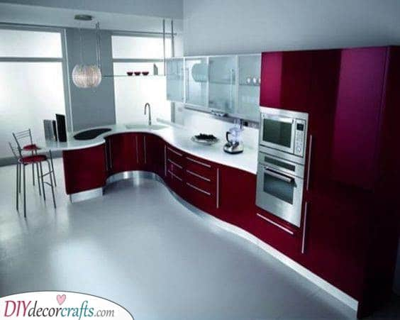 Trendy and Cool - Modern Kitchen Cabinets