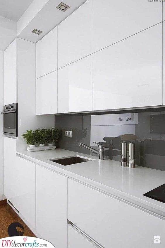 Serene and Bright - Modern Kitchen Cabinet Ideas