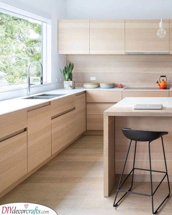 Gorgeous in Wood - A Contemporary Design