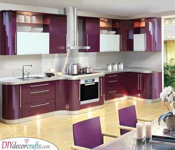 Pretty in Purple - Eccentric and Exciting