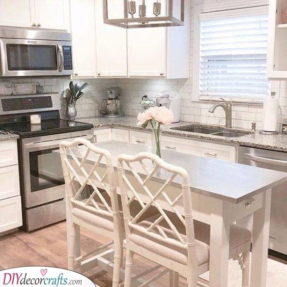 Comfortable Seating - Perfect Ideas for Your Kitchen