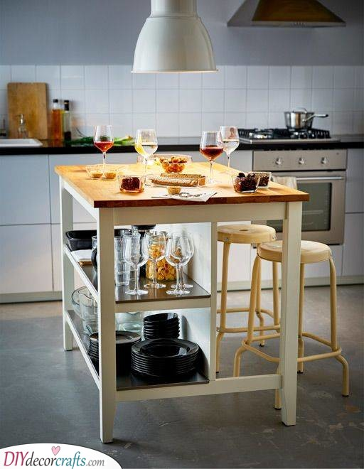 For Work - Small Kitchen Island Ideas With Seating