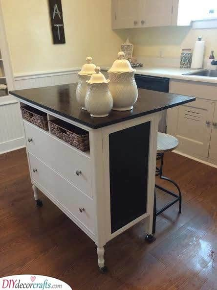 A Kitchen Cart - Awesome Small Kitchen Island With Seating