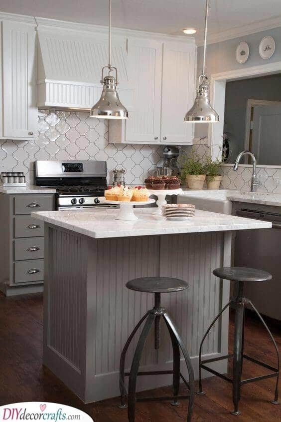 Small Kitchen Island With Seating Ideas