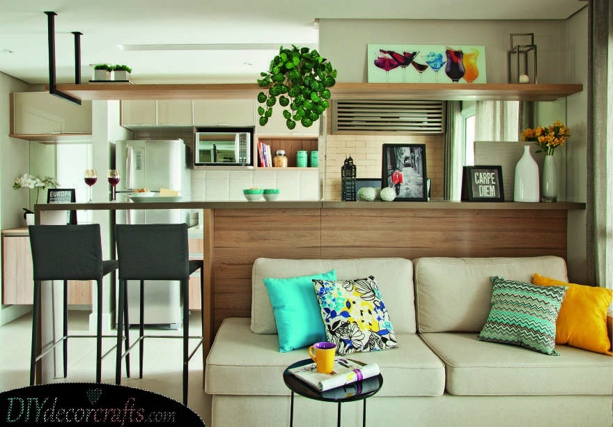 Elongating the Kitchen Counter - Stylish and Chic