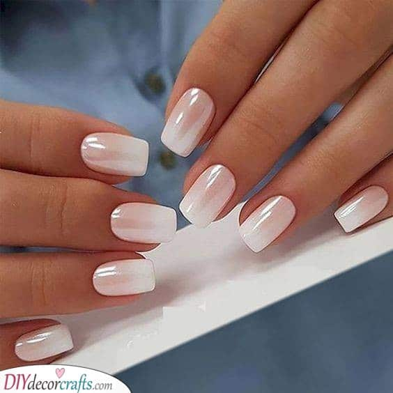 Glossy and Great - Pretty White Nail Ideas