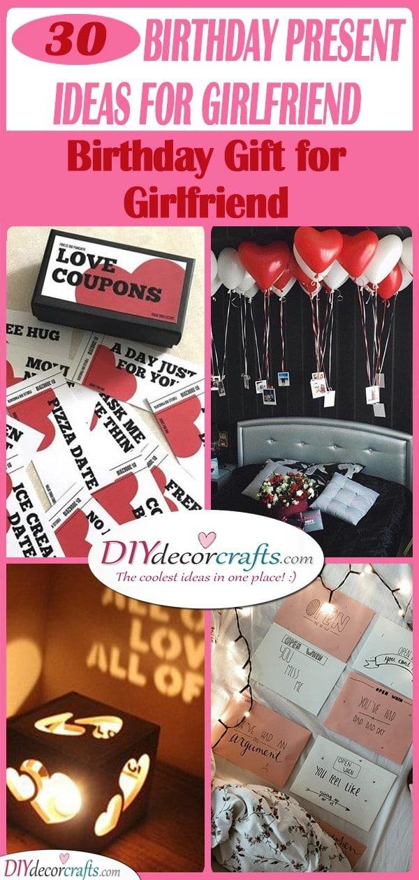 Birthday Present Ideas For Girlfriend Birthday Gift For Girlfriend