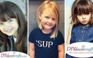25 CUTE HAIRCUTS FOR LITTLE GIRLS - Little Girl Haircut Ideas