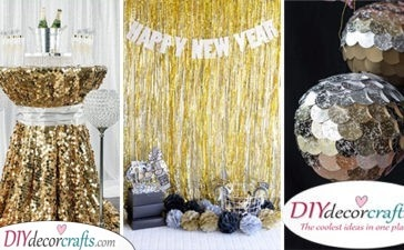 25 NEW YEAR DECORATION IDEAS - New Years Eve Party Decoration Ideas