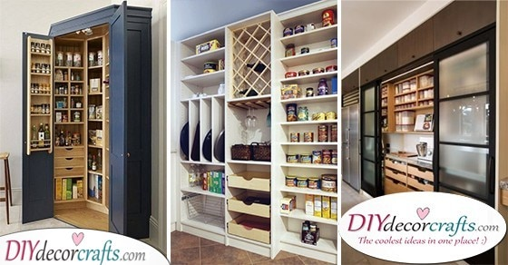 Kitchen Pantry Shelving Ideas Small Organization