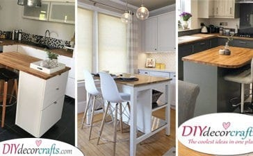 25 SMALL KITCHEN ISLAND WITH SEATING - Small Kichen Island Ideas With Seating