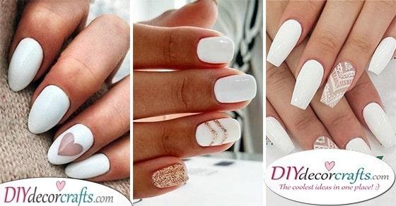 25 WHITE NAIL DESIGNS - A Pick of White Nail Ideas
