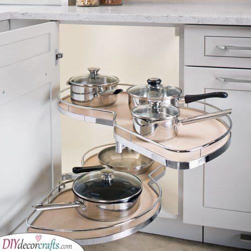 A Modern Look - Contemporary Kitchen Corner Units