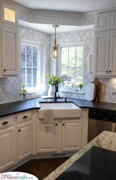 A Sink in the Corner - Practical Kitchen Corner Units