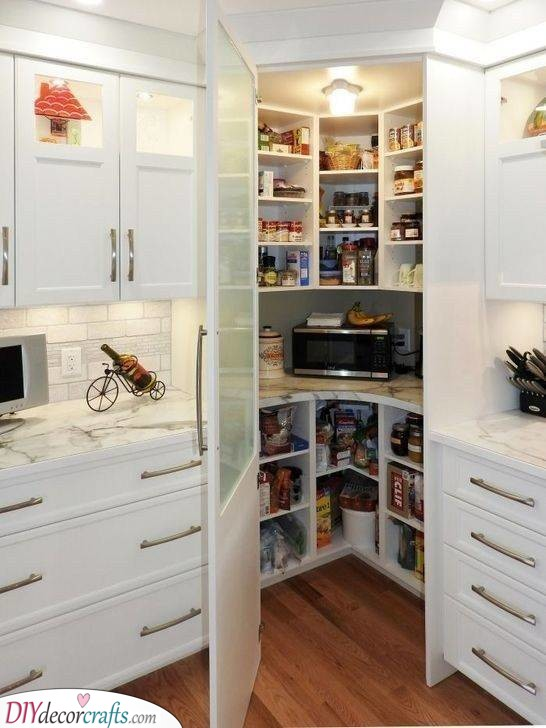 A Whole Pantry - In the Corner of Your Kitchen