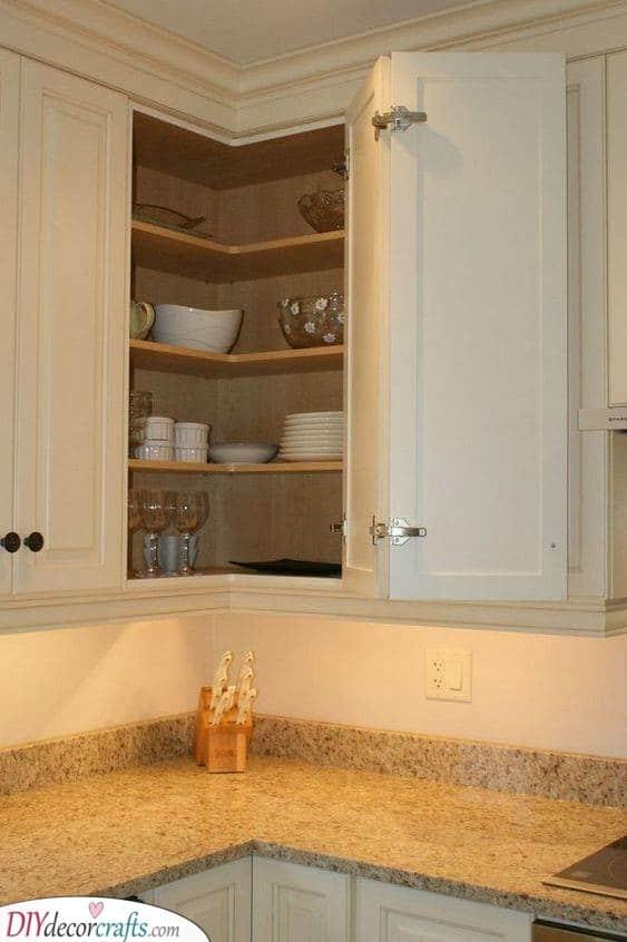 Keeping it Simple - Kitchen Corner Units
