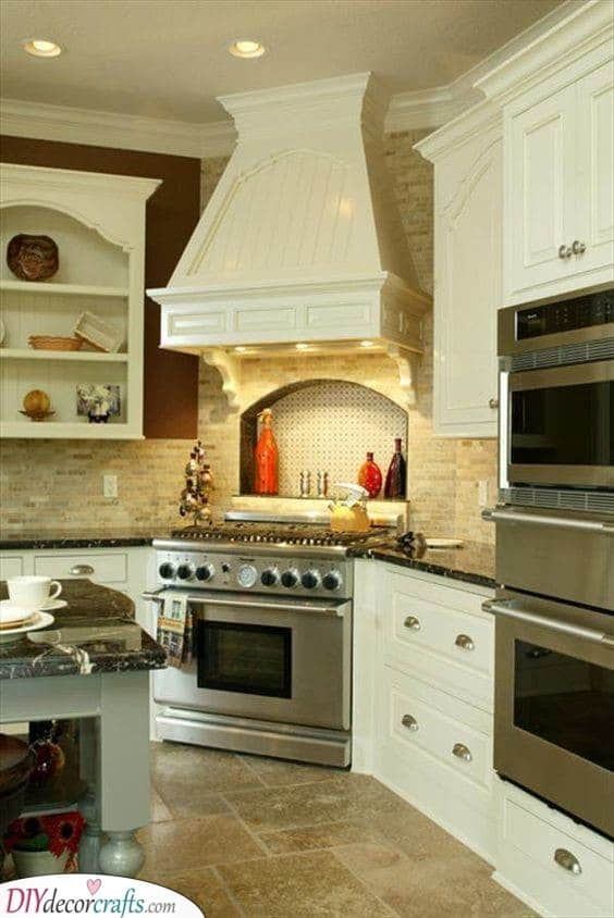 A Gorgeous Cooktop - With an Oven