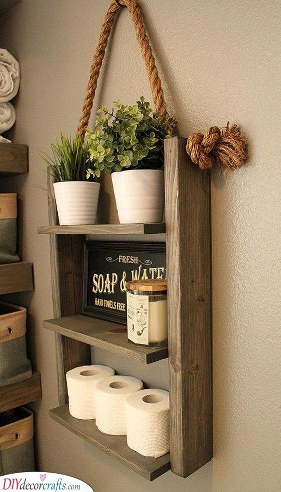 Bathroom Wall Shelves Decorative Bathroom Shelf Ideas