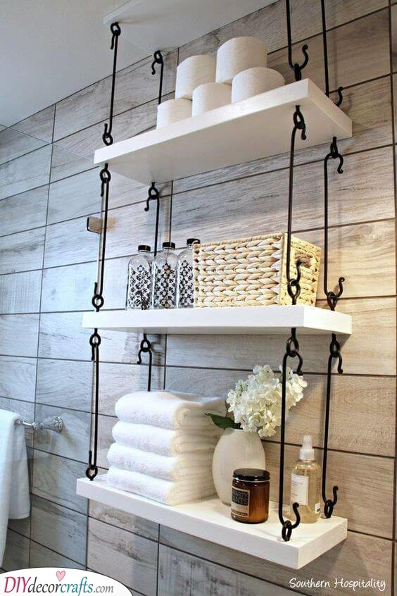 Connecting the Shelves - Creative and Easy