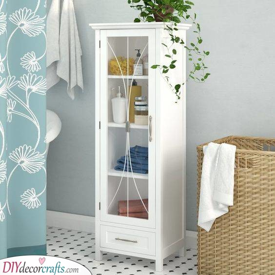 Elegant and Refined - A Traditional Bathroom Cabinet