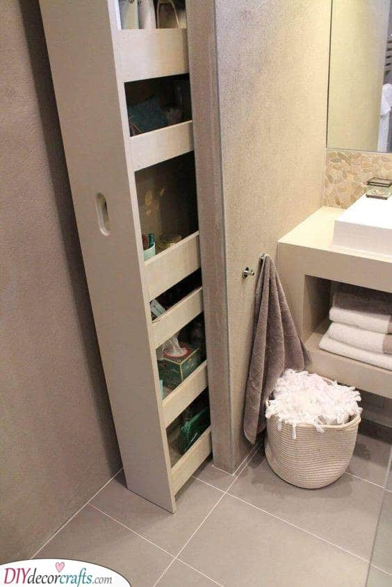 A Pull-Out Shelf - Extremely Practical