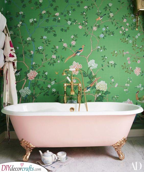 Floral and Fancy - Try Out Some Wallpaper