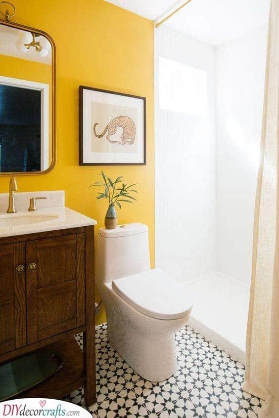 A Hint of Yellow - Vivid and Vibrant