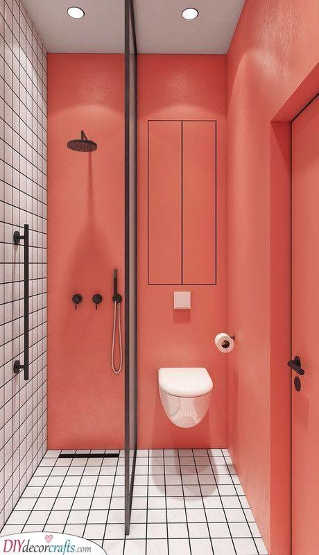 Paint and Tiles - Simple Bathroom Ideas