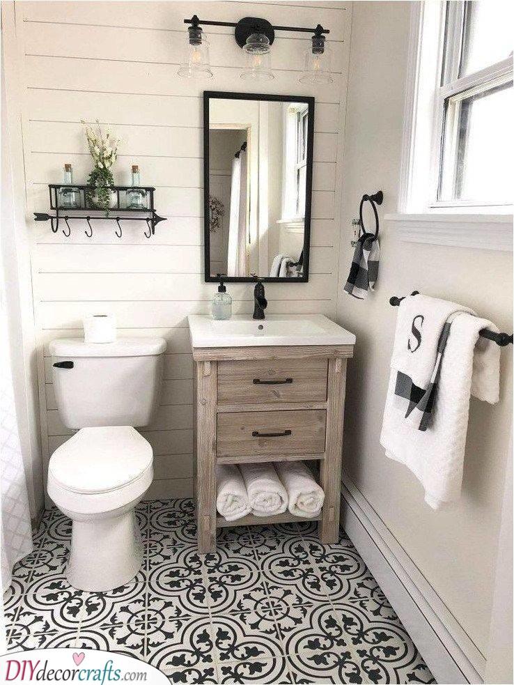 An Interesting Pattern - Best Bathroom Design Ideas