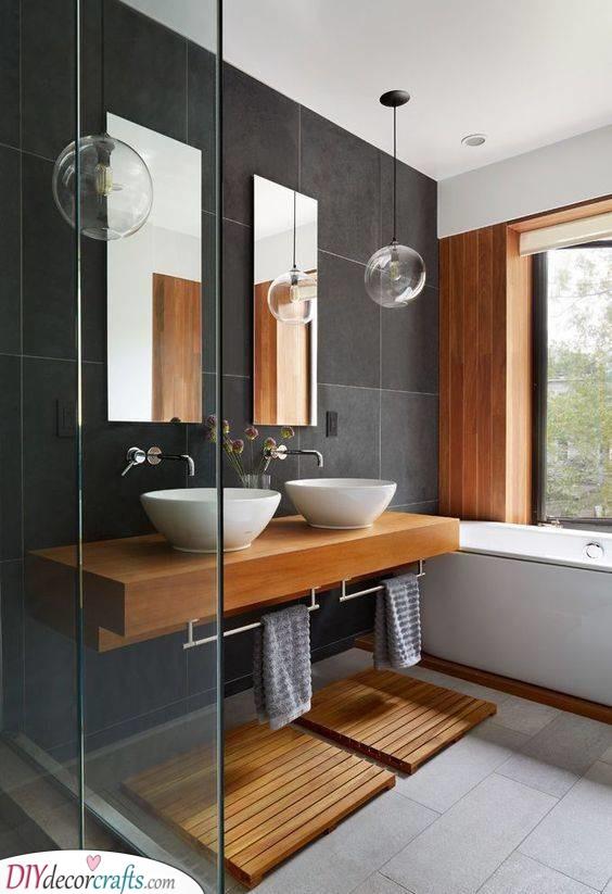 A Definition of Elegance - Simple Bathroom Ideas