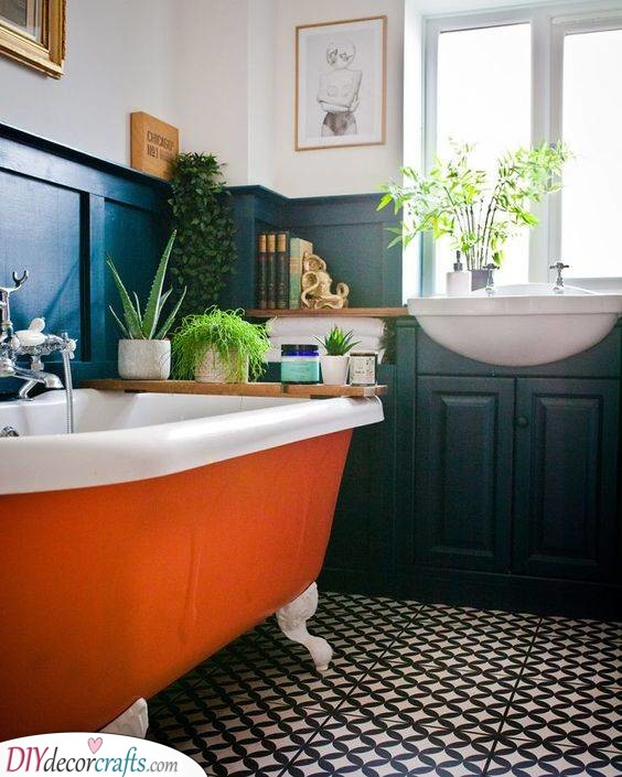 Add a Bit of Colour - Fun and Funky Bathrooms