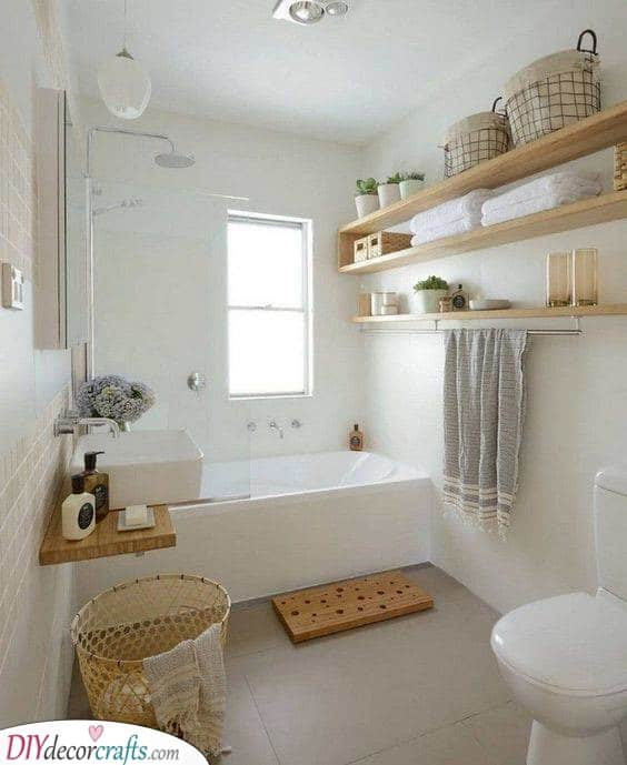 Bright in White - Make Your Bathroom Spacious