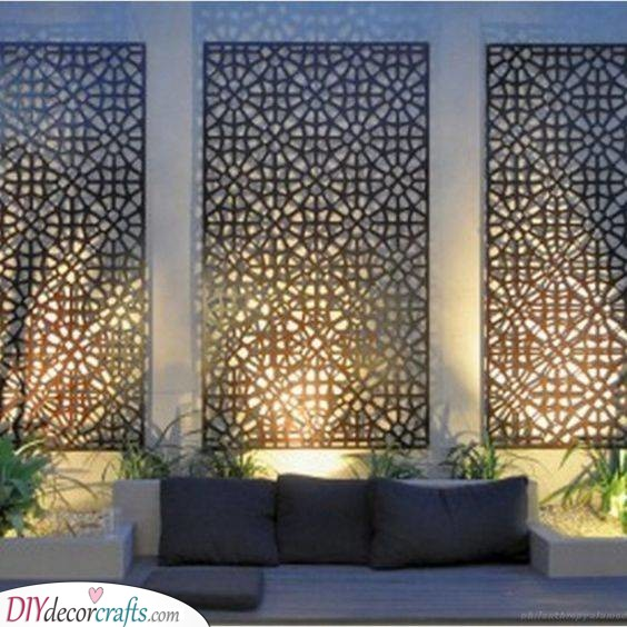 A Laser Cut Panel - Intricate and Sophisticated