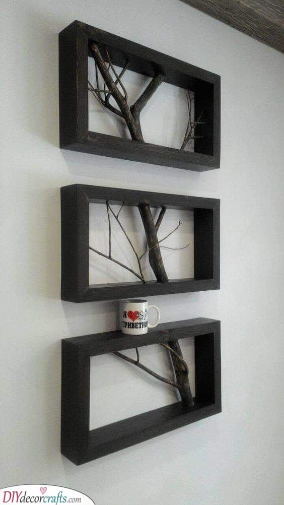 Tree Branches in Frames - Creative and Beautiful