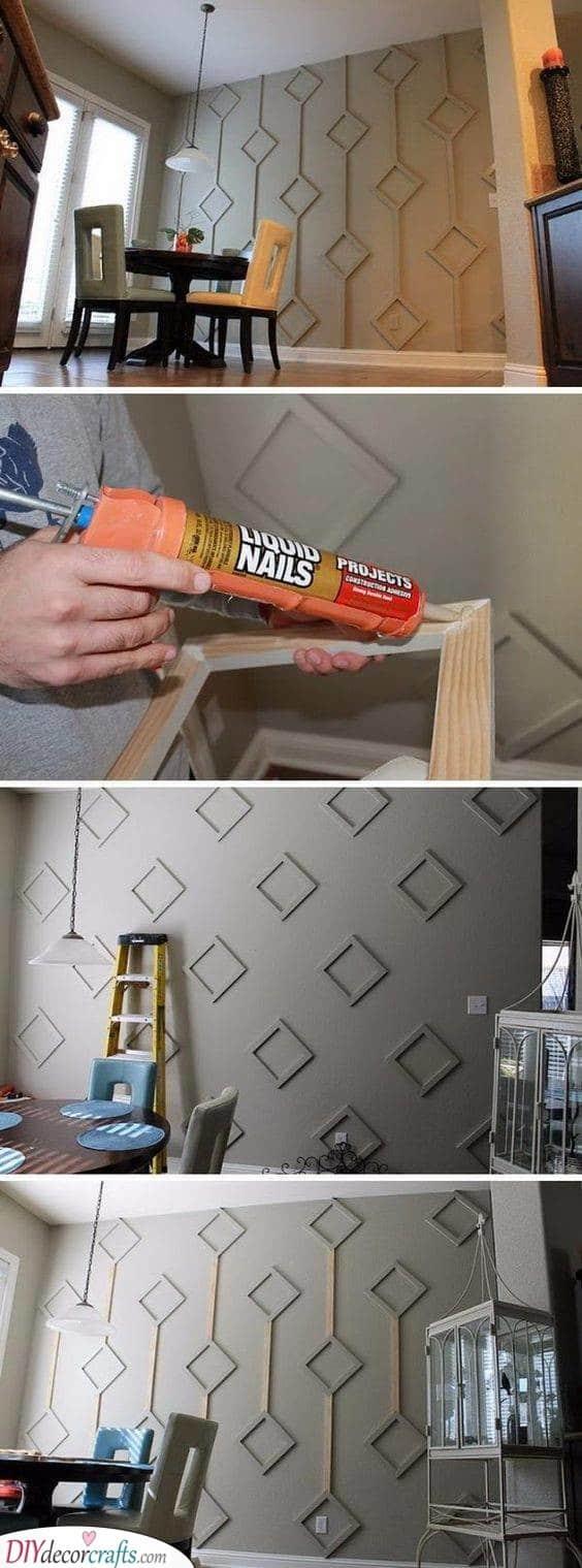 Original Wall Accents - DIY Wall Decor Ideas