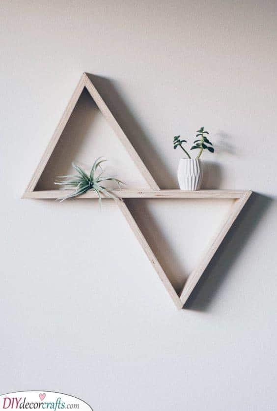 A Modern Essence - Geometric DIY Wall Art