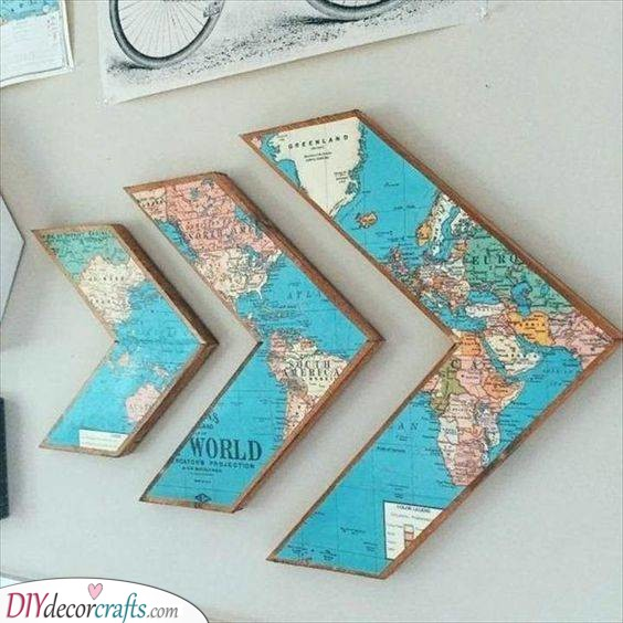 For People Who Love to Travel - Arrow Maps