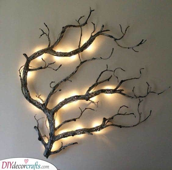 A Touch of Nature - Homemade Wall Decoration Ideas