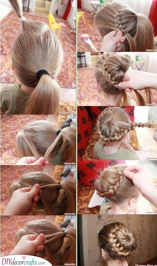 A Definition of Beauty - Little Girl Braid Styles