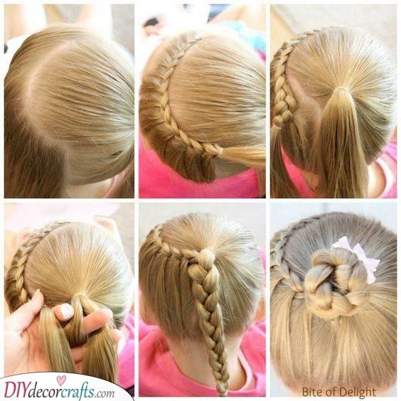 Create a Cute Bun - Perfect for Kids
