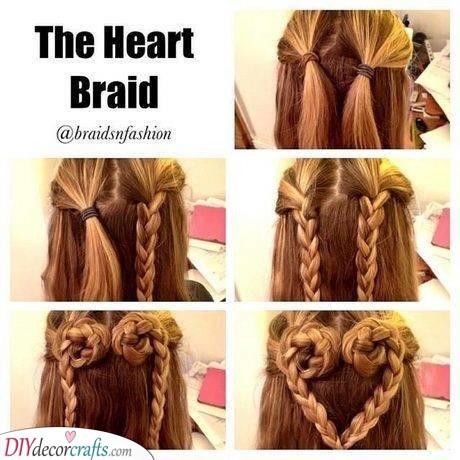 A Lovely Heart - Interesting Little Girl Braid Styles