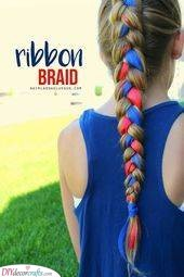 Really Into Ribbons - Amazing Little Girl Braid Styles