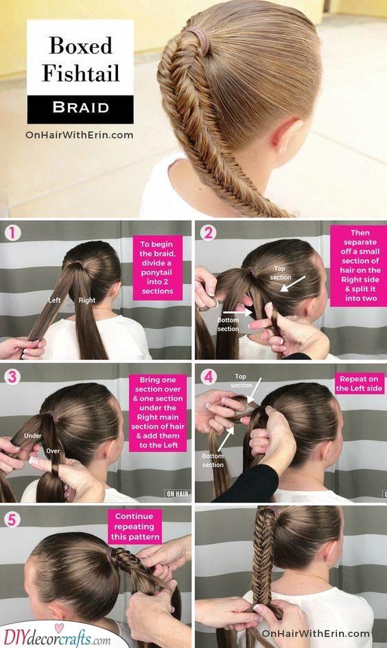 A Fair Fishtail - Braid Styles for Little Girls