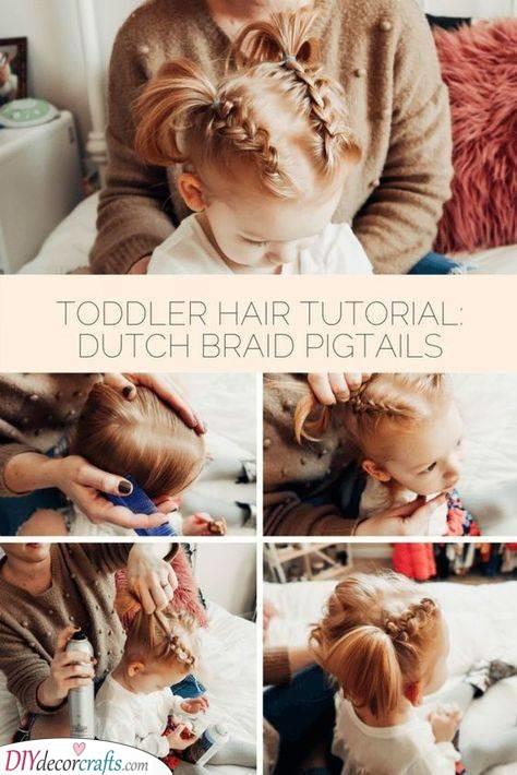 Dutch Braid Pigtails - Braid Styles for Little Girls