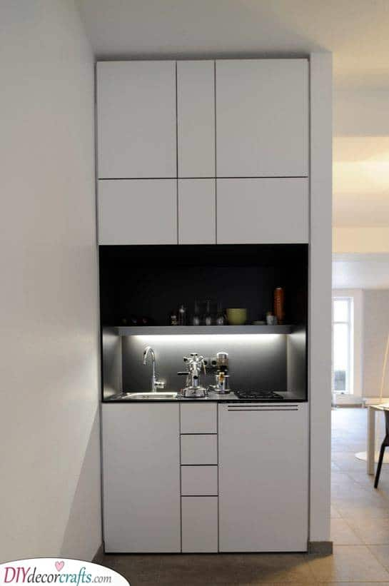 Modern and Contemporary - Amazing Kitchenette Ideas