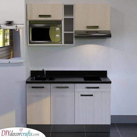 A Brilliant Idea - Fitting into a Small Kitchen